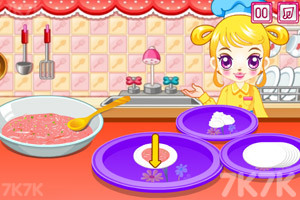 《阿sue包饺子》游戏画面1