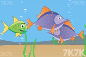 《小鱼儿大挑战》游戏画面1