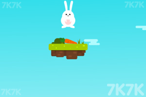 《小兔跳高》游戏画面1