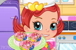 《烤彩虹甜甜圈中文版》截圖2