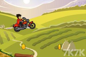《山地摩托挑战赛》游戏画面3