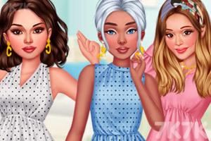《女团的荷叶裙》游戏画面1
