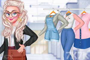 《校花的时尚眼镜》游戏画面2