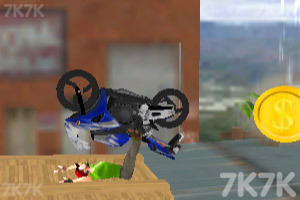 《真实摩托炫技赛》游戏画面5