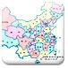 中国地图两个不同彩票平台对打,拼图