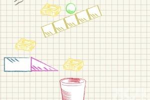 《球入纸篓》游戏画面2