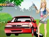 女孩修汽车1