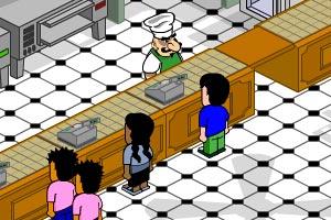 比萨大厨经营餐馆