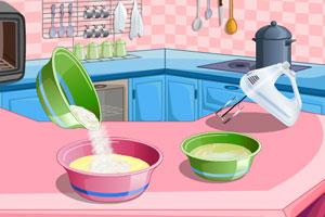 制作柠檬蛋糕