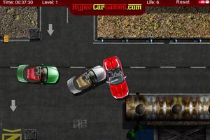 停靠红色跑车