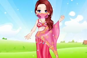 漂亮印度公主