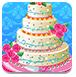 鲜花婚礼蛋糕