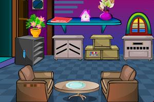 逃出紫色房子