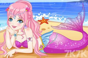 海滩人鱼公主