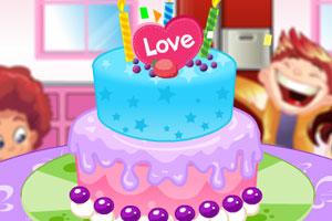 双层奶油蛋糕2