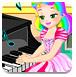 朱麗葉公主上鋼琴課
