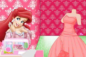人鱼公主做裙子