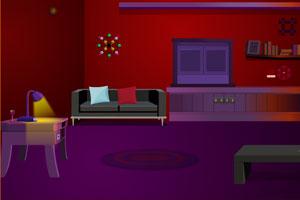 暗红房间寻找钻石逃脱
