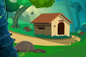 救蓝鸟逃离小屋