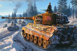 第二世界大战坦克拼图