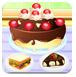 美味的巧克力芝士蛋糕