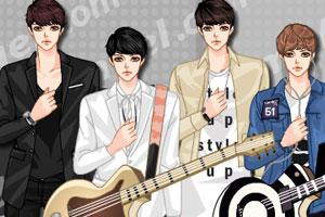 韩国乐队男主唱