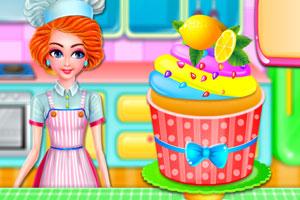 柠檬蛋糕的制作