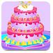彩色婚禮蛋糕
