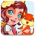 幸福的狐狸女孩
