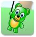 泰迪熊与气球