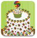 糖果蛋糕装饰