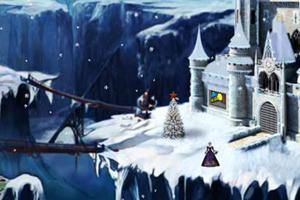 逃离积雪城堡