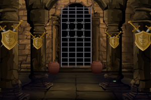 逃离古老的城堡