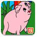 农场动物填颜色
