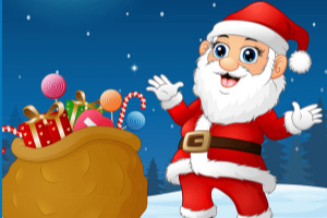 圣诞老人找差异