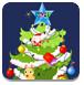 装饰圣诞树