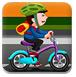 男孩自行车表演赛