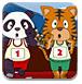 老虎和熊猫跨栏