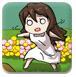 大眼萌萌保护花朵