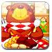 小熊吃饼干