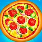 单手做披萨
