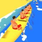 皮划艇冲刺赛