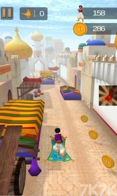 《阿拉伯跑酷》游戏画面2