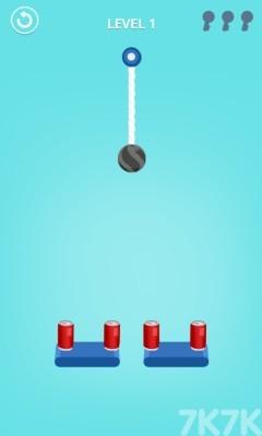 《繩索保齡球2》游戲畫面1