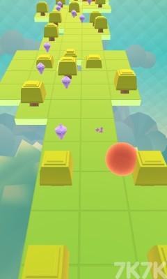 《彩虹小球冲刺》游戏画面2