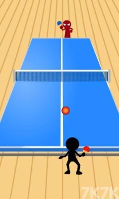 《火柴人乒乓球》游戏画面3