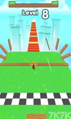 《拾木铺路》游戏画面2