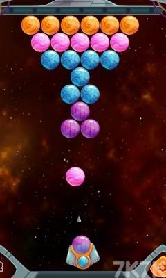 《彩球泡泡龙》游戏画面2