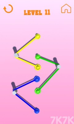 《彩色绳子》游戏画面4
