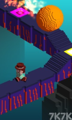 《像素头逃亡》游戏画面3